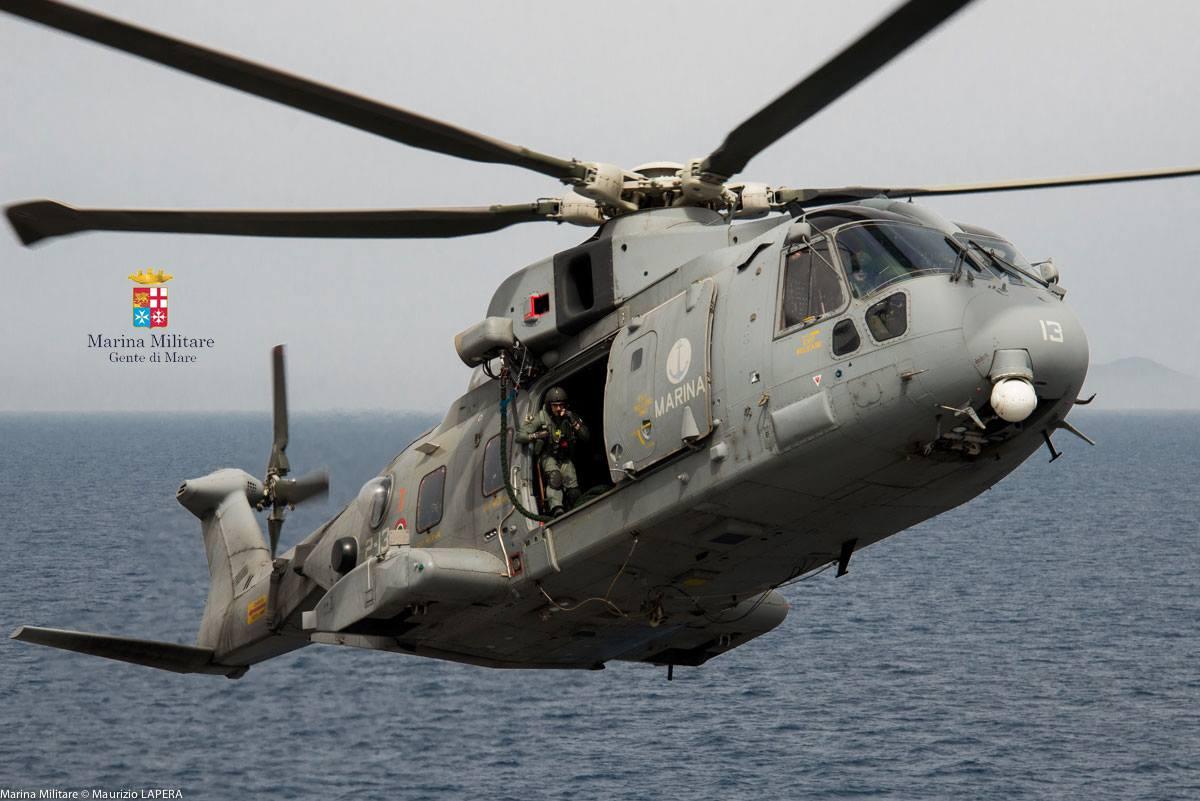 Elicottero Marina Militare : Elicottero