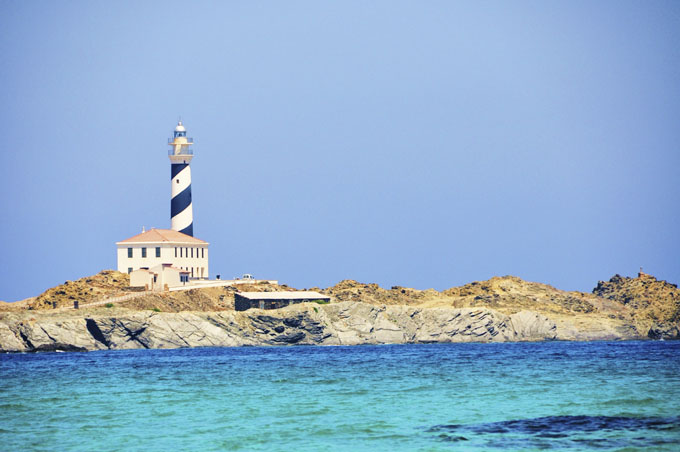 spain menorca lighthouse favaritx 474780221